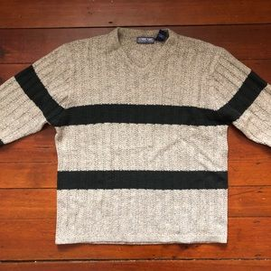 """Structure """"Fat Stripes"""" Vintage Structure Sweater"""